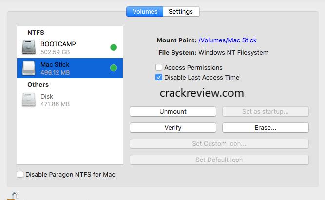 Paragon NTFS 15 Crack